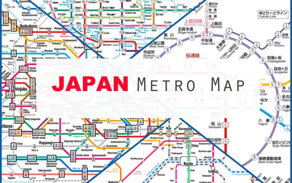 japan metro map