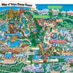 Tokyo DisneyResort map