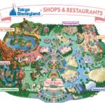 Tokyo Disneyland shop and restaurant