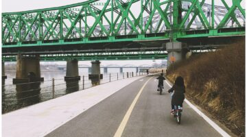 seoul bike | han river |bike rental in seoul
